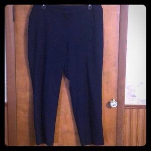 Anne Klein Navy Dress Pants Sz 18